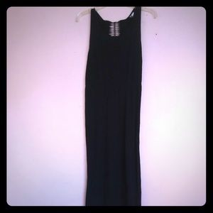 HandM black maxi dress